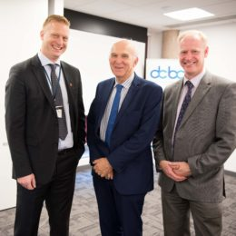 Sir Vince Cable MP visits Rx-info